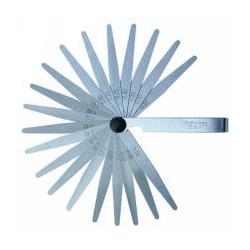 Jauge d'épaisseur 18 lames de marque OUTIFRANCE , référence: B367800