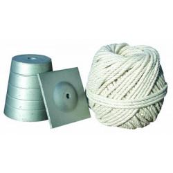 Plomb de maçon avec cordeau de marque OUTIFRANCE , référence: B291200