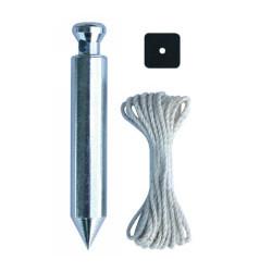 Plomb de platrier + plaquette et cordeau de marque OUTIFRANCE , référence: B293300