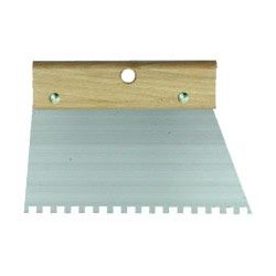 Spatule à colle 20 cm denture triangle de marque OUTIFRANCE , référence: B374100