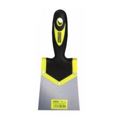 Couteau à enduire 100 mm, manche bi-matière de marque OUTIFRANCE , référence: B378400