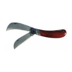 Couteau d'électricien 2 lames de marque OUTIFRANCE , référence: B471400
