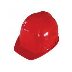 Casque chantier rouge de marque OUTIFRANCE , référence: B418200
