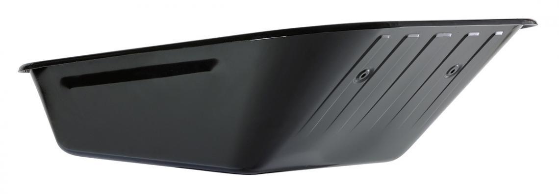 Caisse de brouette peinte noire 100 L - 6 trous