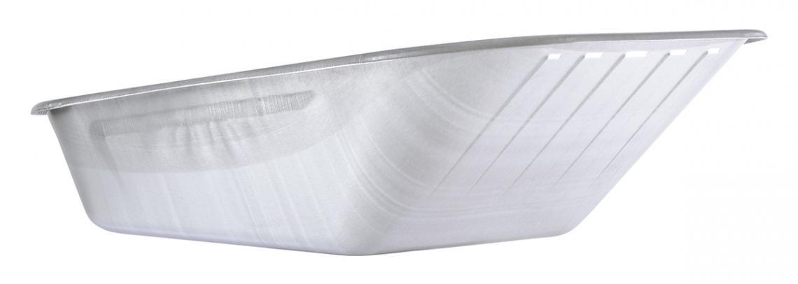 Caisse de brouette galva 100 L - 4 trous