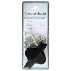 Paire de coussinets  polyamide ø 21 mm de marque HAEMMERLIN, référence: J684200