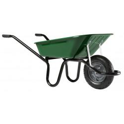 Brouette Aktiv Premium peinte roue gonflée 100 L de marque HAEMMERLIN, référence: J684900