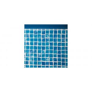 Liner piscine ovale