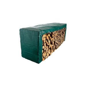 Bâche pour les tas de bois