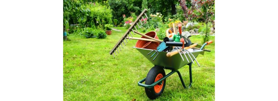 Entretien du jardin (déblayer, nettoyer, etc.)
