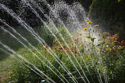 Installer un arrosage de surface dans votre jardin