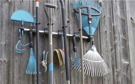 Les outils de jardinage interchangeables